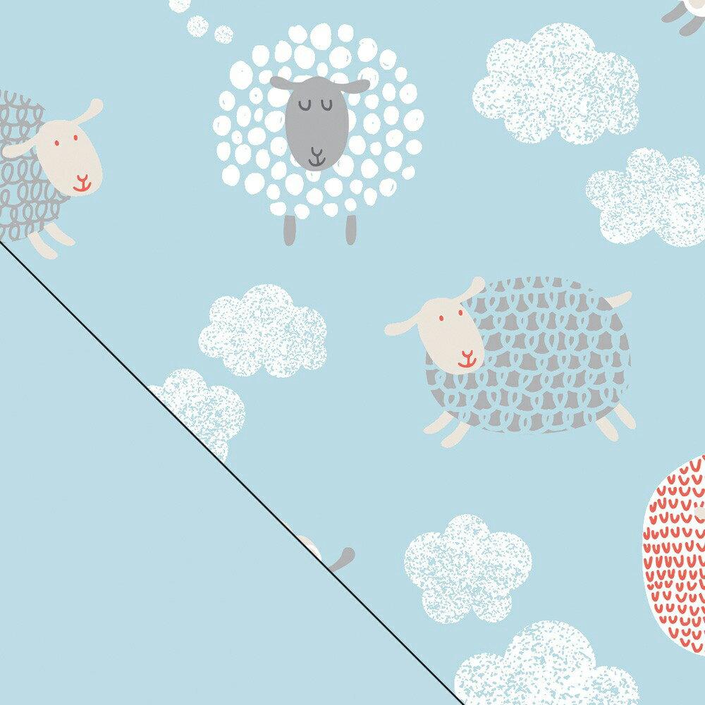 德國 Theraline 哺乳育嬰月亮枕套 190公分妊娠及育嬰枕頭套 - 快樂小羊【總代理公司貨】【淘氣寶寶】