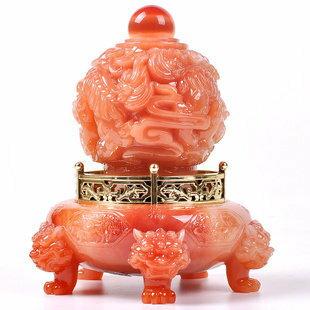 禮邦 九轉乾坤獅子擺件工藝品時尚家居裝飾品擺設創意商務春節禮物