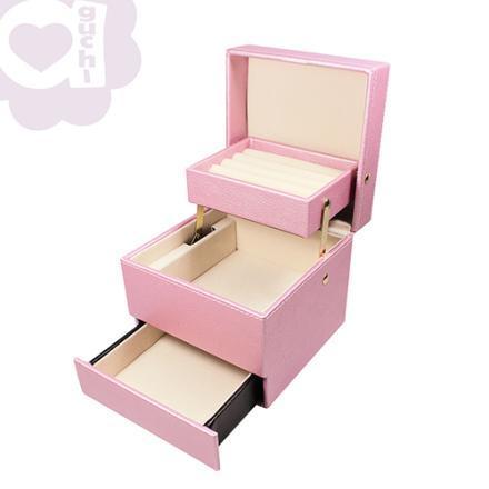 【Aguchi 亞古奇】皇家標記-優雅粉 珠寶盒(玩美精靈系列) 1