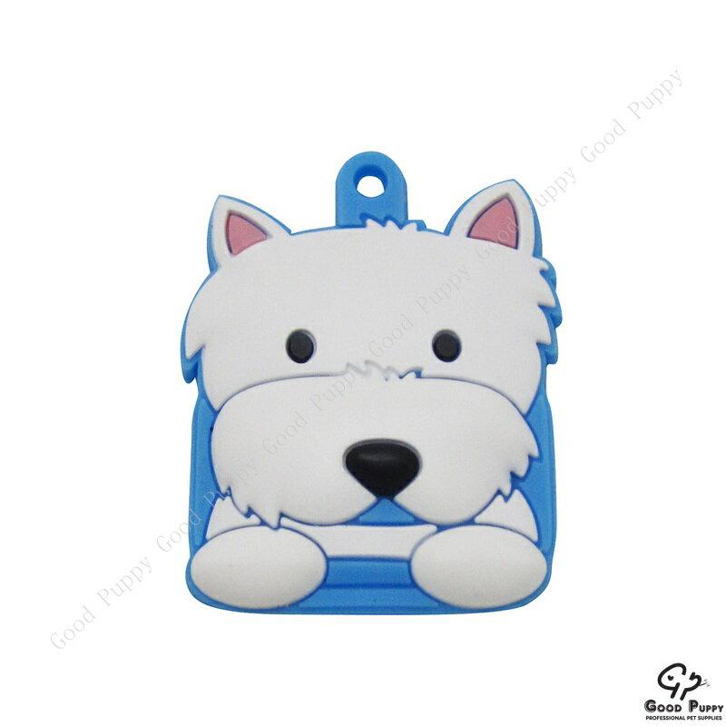 加拿大進口狗狗寵物鑰匙套-西高地白梗92870 Westie Terrier* 吊飾/鑰匙套/小禮物/贈品