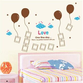 【壁貼王國】 相片貼系列無痕壁貼《愛氣球 - AY868》