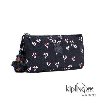 【結帳輸入fashion0511-2折100】Kipling零錢包 愛心花卉印花 K1326560M