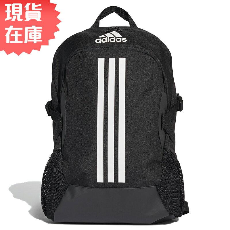 【現貨】ADIDAS POWER 5 背包 後背包 三條線 大容量 水壺袋 筆電夾層 黑【運動世界】FI7968