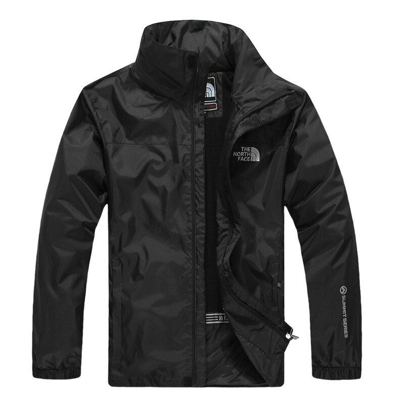 北臉 THE NORTH FACE 立領 保暖外套 防寒防風水 機能衣系列 風衣 騎士外套 黑色