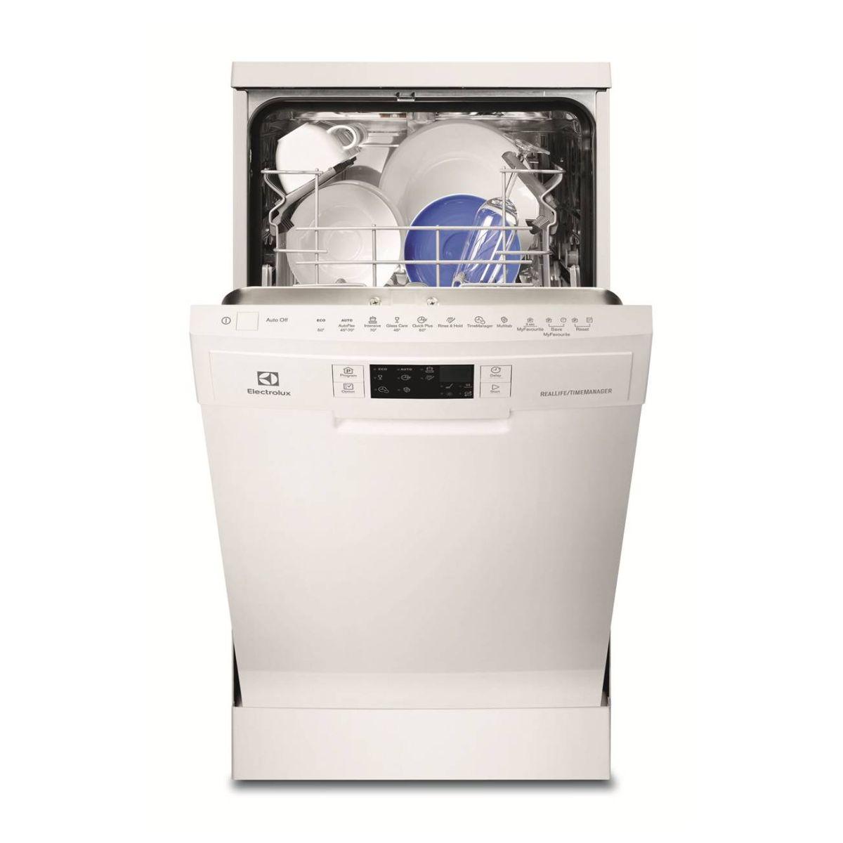 Electrolux 伊萊克斯 ESF4660ROW 獨立式45cm洗碗機(白) 【零利率】