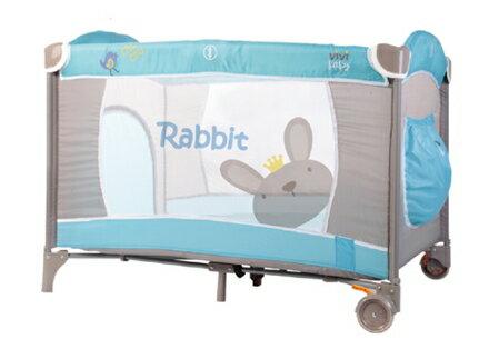 【ViVibaby】王子兔遊戲床