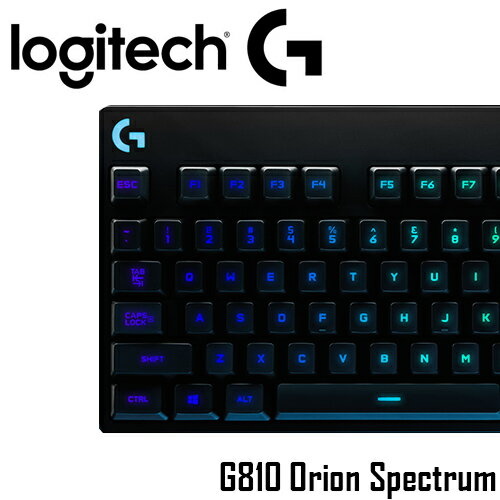 羅技 Logitech G810 Orion Spectrum RGB 機械遊戲鍵盤