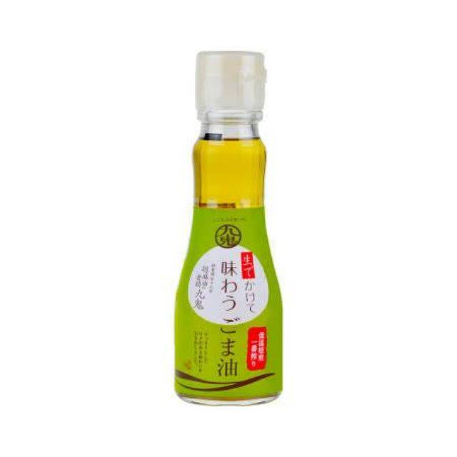 日本九鬼 純正胡麻油150g/600g(原裝)