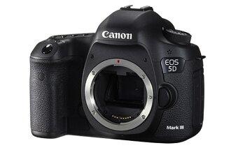 10/31止申請送120G硬碟+3千圓郵政禮卷 Canon EOS 5D Mark III Body 單機身 彩虹公司貨 5DIII 5D3 再送Sandisk Extreme Pro 64G95M+..