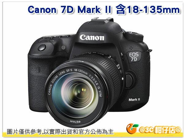 送64G+副電+NLP1+快門線+大吹球+清潔液+拭鏡布等好禮 Canon 7D Mark II 含18-135mm 彩虹公司貨 KIT 7DM2 7D2 7DII