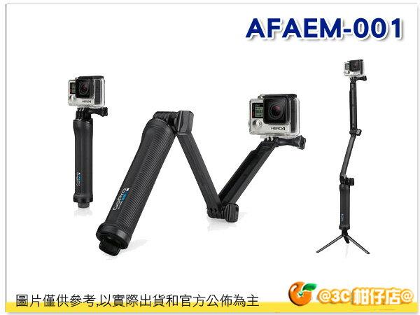 GoPro AFAEM-001 手持桿 三向固定支架 攝影機 折疊臂 三腳架 HERO3+ HERO4 公司貨