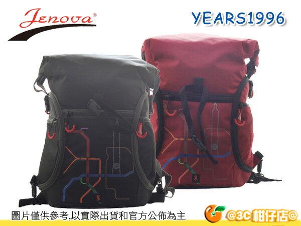 JENOVA 吉尼佛 YEARS 1996 那些年 1996 專業攝影背包 後背包 側取 附防雨罩 公司貨