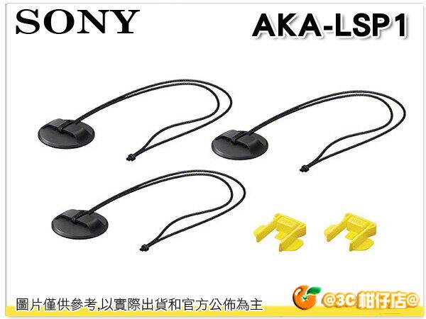 SONYAKA-LSP1 防丟失卡扣套裝 搭配 VCT-AM1 AKA-SM1 使用 極限攝影 運動 台灣索尼公司貨 - 限時優惠好康折扣