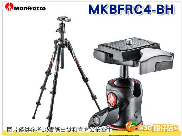 送拭鏡筆 Manfrotto 曼富圖 Befree carbon 碳纖維三腳架 MKBFRC4-BH 正成公司貨
