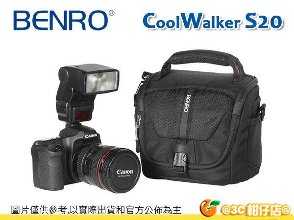 百諾 BENRO 酷行者輕便型 攝影側背包 CW S20 單肩 相機包 微單 1機1鏡1閃 附防雨罩 公司貨