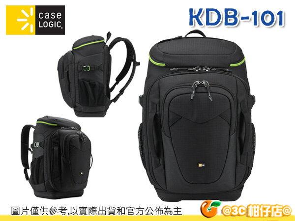 美國 Case Logic KDB-101 攝影雙肩後背包 單眼 15吋筆電 平板 三腳架 1機8鏡 70-200mm 公司貨