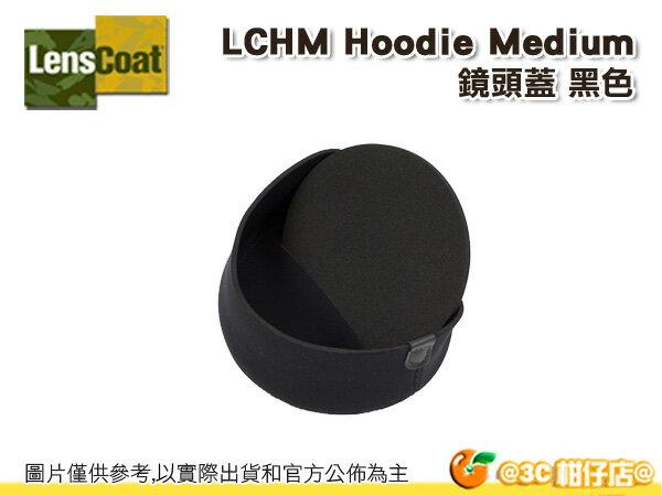 美國 Lenscoat LCHM 鏡頭蓋 保護套 Hoodie Medium 中黑色 防水 砲衣