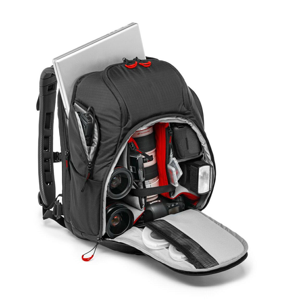 MANFROTTO 曼富圖 MB PL-MTP-120 Multi Pro 旗艦級蝙蝠雙肩背包 後背包 可側取 上取 13吋筆電 2機2鏡1閃 1