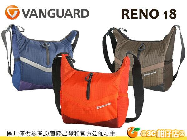 VANGUARD 精嘉 Reno 18 新銳者 肩背包 相機包 攝影 旅遊 輕量 快取 單眼 微單 1機2鏡