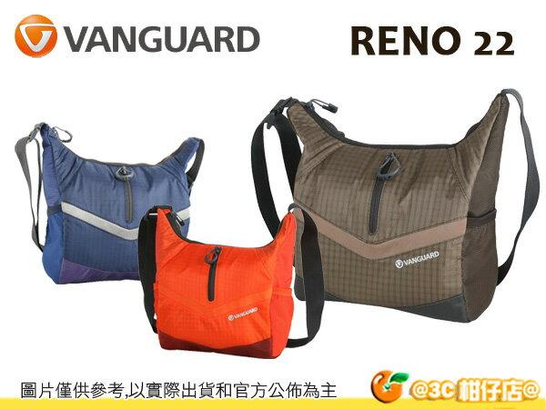 VANGUARD 精嘉 Reno 22 新銳者 肩背包 相機包 攝影 旅遊 輕量 快取 單眼 微單 1機2鏡1閃