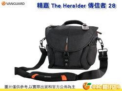 精嘉 VANGUARD The Heralder 28 傳信者 28 單肩 斜背 相機包 可掛腳架 10吋筆電 1機3鏡含手把 附防雨罩