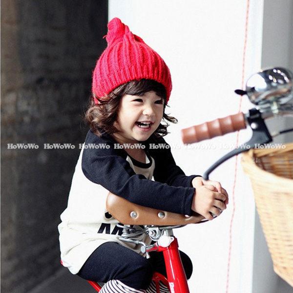 寶寶帽 套頭帽 針織毛線帽 嬰兒帽  螺旋帽  BU1343 好娃娃