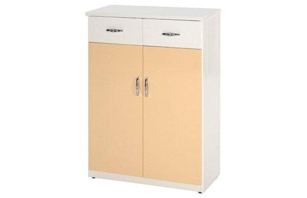 【石川家居】850-05(鵝黃白色)鞋櫃(CT-303)#訂製預購款式#環保塑鋼P無毒防霉易清潔