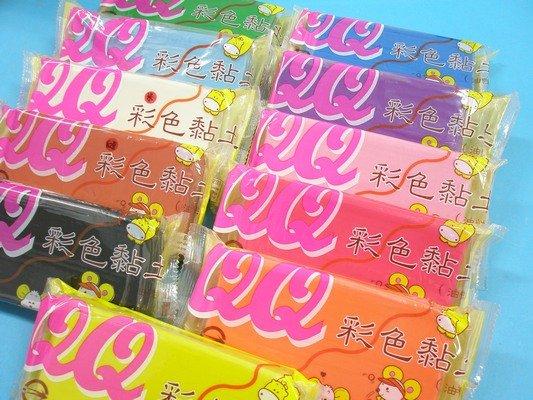 QQ彩色黏土 油黏土 油粘土 400g/一件60個入 定[#60] 油土 油性黏土 ~立鑫