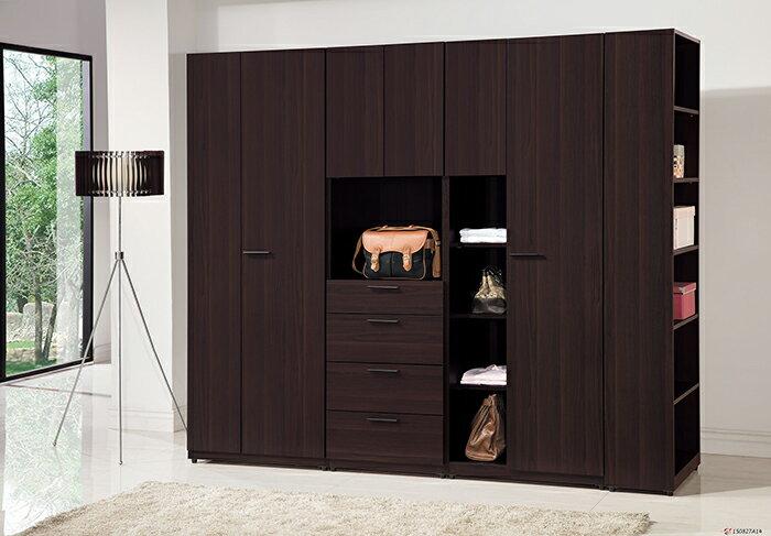 【尚品傢俱】HY-A134-02 艾力克系統式2.5尺雙門衣櫥
