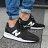 Shoestw【MS247EB】NEW BALANCE NB247 慢跑鞋 網布 襪套 黑白N 男女都有 情侶鞋 1