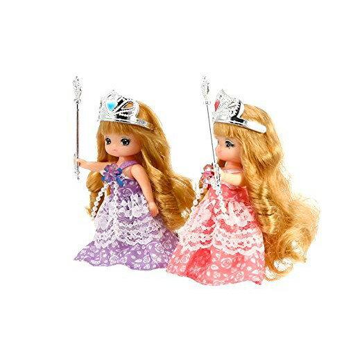 【預購】日本進口特価!莉卡的妹妹 MAKI 和 MIKI 娃娃 公主 LD-17【星野日本玩具】