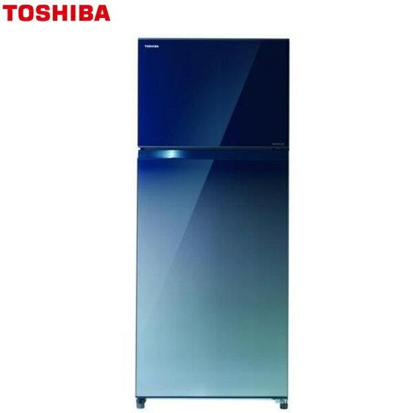 ★贈SPA沐浴器★『TOSHIBA』☆東芝510L雙門變頻冰箱GR-AG55TDZ**免運費+基本安裝**