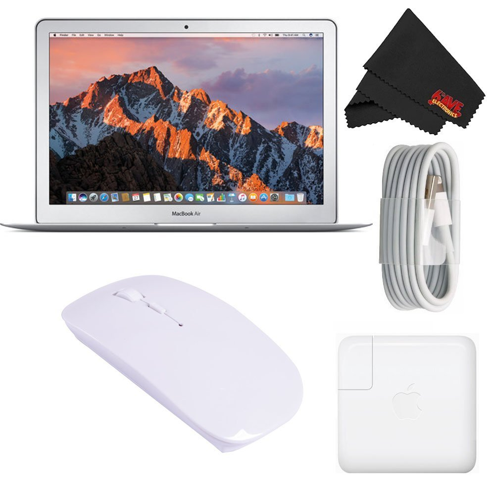 "Apple 13.3"" MacBook Air 256GB SSD #MQD42LL/A (Newest Version 2017 Model) Starter Bundle 0"