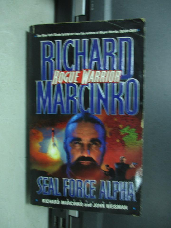 【書寶二手書T2/原文小說_KBB】Seal force alpha_Richard marcinro