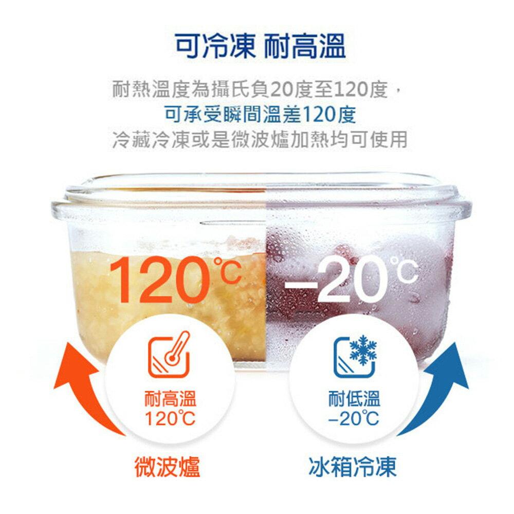 【店長推薦】Glasslock 強化玻璃保鮮盒 - 冰箱收納 9 件組/韓國製造/可微波/耐瞬間溫差120度/減塑餐盒/上班族學生帶飯 5
