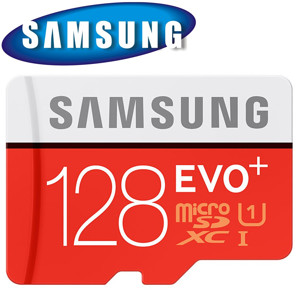 SAMSUNG 三星 128GB 80MB/s EVO+ microSDXC TF U1 C10 記憶卡