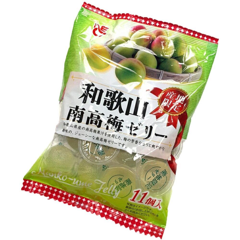 餅之鋪食品暢貨中心 日本-ACE和歌山11入南高梅果凍-165g包