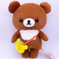 拉拉熊玩偶/娃娃/抱枕推薦到【UNIPRO】拉拉熊 Rilakkuma 新夥伴 小熊君 蜂蜜小熊 34公分 絨毛娃娃 玩偶 San-X正版授權就在UNIPRO優鋪推薦拉拉熊玩偶/娃娃/抱枕