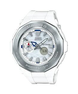 CASIOBABY-GBGA-225-7A海灘豪華露營潮汐溫度雙顯流行腕錶