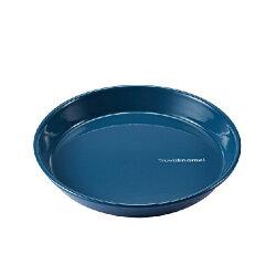 【【蘋果戶外】】Truvii 趣味 20cm 波斯藍 琺瑯盤 木柄琺瑯杯 木燈 營燈 台灣設計師作品 蜂蠟油 光罩 抗菌餐具