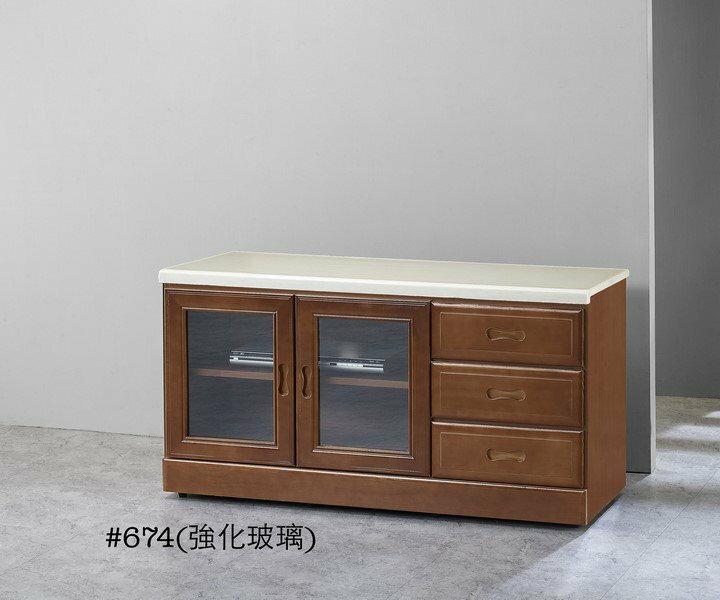 ~石川家居~GH~614 樟木色4尺石面電視櫃 ^(不含 ^) 需 車趟