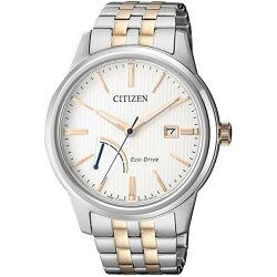 CITIZEN 星辰 GENT'S時尚風格光動能腕錶 AW7004-57A 49mm