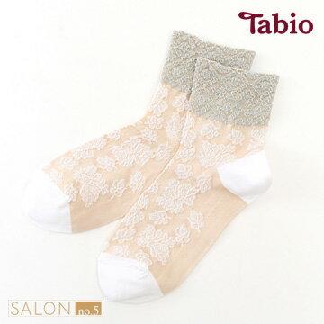 【靴下屋Tabio】優雅花卉圖騰棉質短襪日本襪子第一品牌