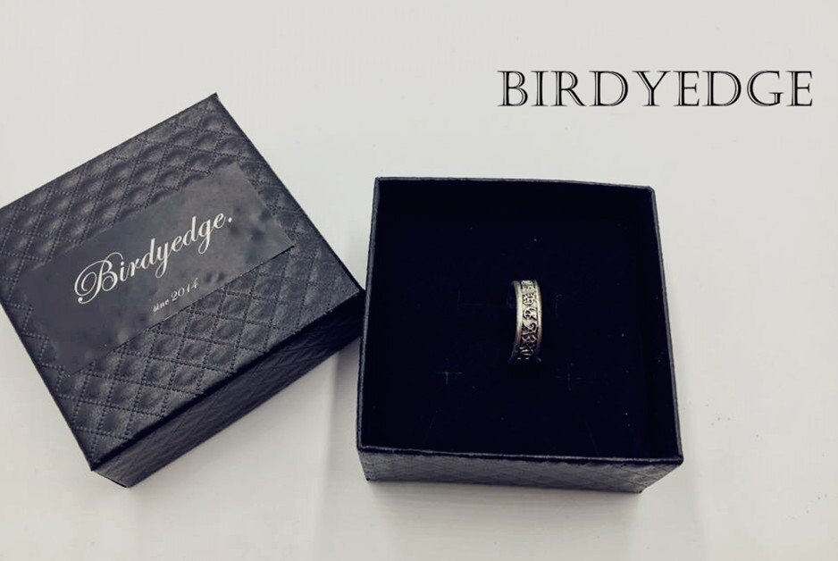 【Birdy Edge】克羅心 十字架 羅馬 聖經 戒指 耶穌 聖母 戒指 環