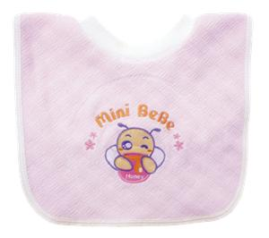 ~蜜妮寶貝嬰童用品館~暖絨套頭圍兜   ONE SIZE   黃色、藍色、粉紅