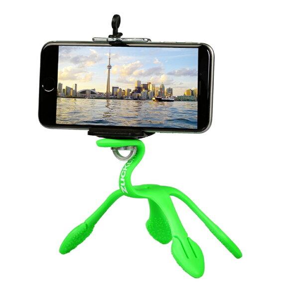 歐肯得:Gekkopod第二代壁虎爬世上最靈活的手機架相機架-綠色