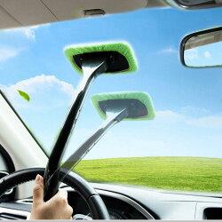 車用清潔刷 前擋風玻璃清潔布 汽車玻璃刷 汽車美容【DJ310】◎123便利屋◎