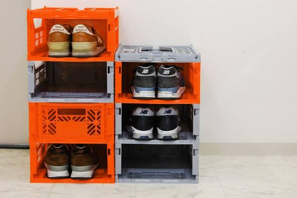 【不挑色?限時8折】(中)Ay Kasa土耳其多功能折疊 組合 多色專利摺疊收納箱(中),收納 整理 旅遊 玩具箱 水果籃 工具箱 物流箱 置物箱 鞋櫃【Limiteria】