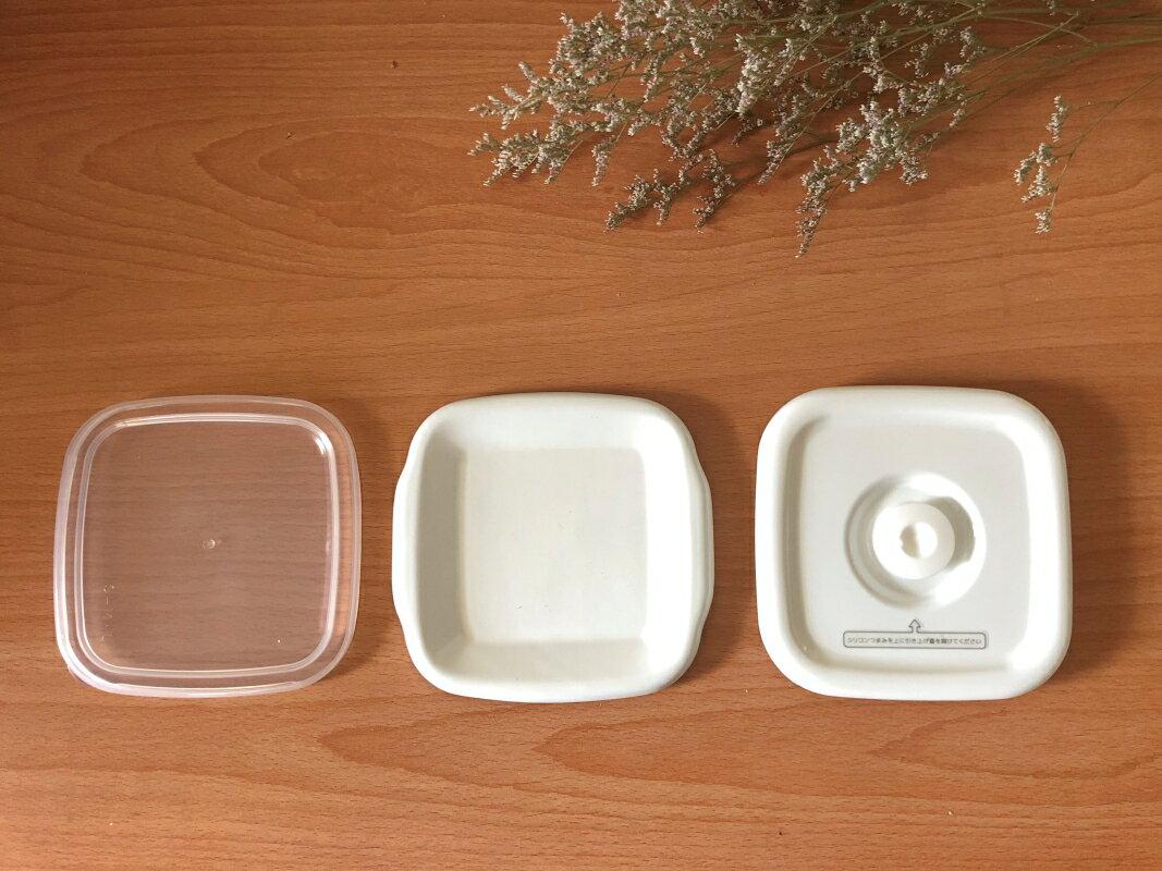 野田琺瑯 /  深方型琺瑯收納盒 上蓋-三種材質(加購單品) - 限時優惠好康折扣