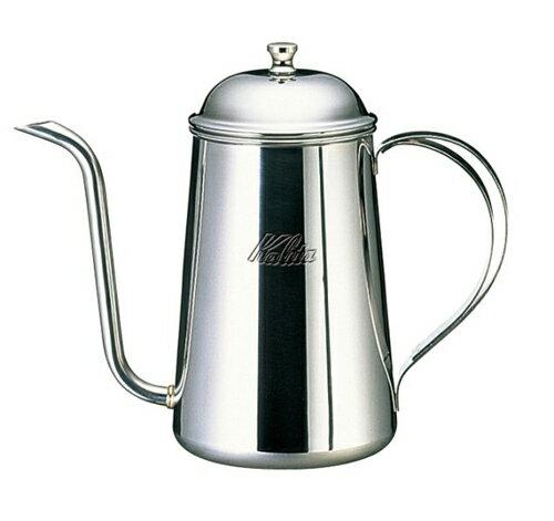【沐湛咖啡】日本原裝 Kalita 700ML 浮雕18-8不銹鋼 700cc手沖壺 細口壺 宮廷壺 0.7L